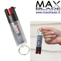 SABRE Red Spray al peperoncino Portachiavi nero