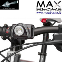 LED LENSER SEO B5R Grigia Torcia Bike Led Ricaricabile 180 lumens