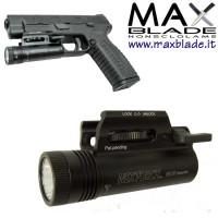 NexTORCH Torcia Attacco Pistola WL10 Executor 230 lumens