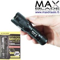 NITECORE Torcia LED Ricaricabile MH20 1000 lumens