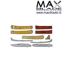 RR Kit per coltello Trapper Fai Da Te due lame da montare