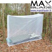ULTIMATE SURVIVAL Zanzariera singola Camp Mosquito Net