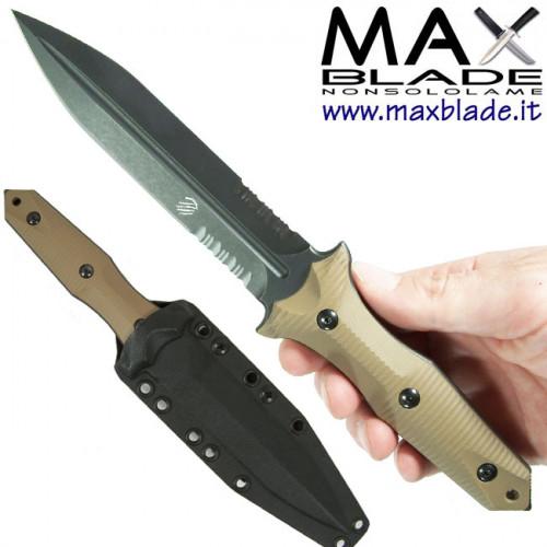 BASTINELLI Grozo Dagger 3D coltello daga solo 1 filo