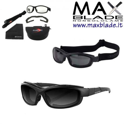 BOBSTER Occhiali XRH occhiale tattico con doppia lente e telaio