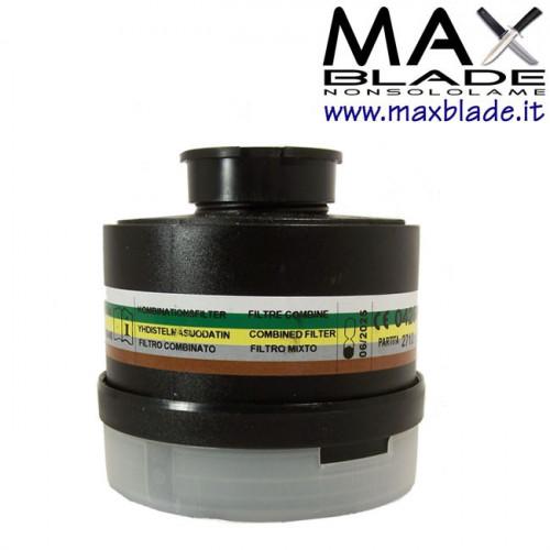 DPISEKUR Filtro Polivalente Maschera Antigas A2B2E2K2P3RD Selecta/Sfera P3 Riutilizzabile