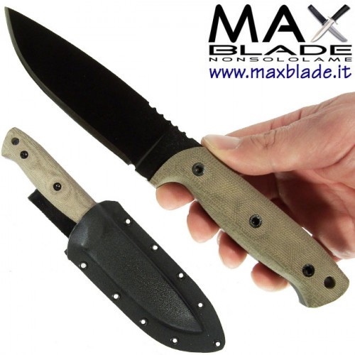 ENTREK Nighthawk coltello indistruttibile