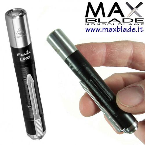FENIX LD02 V2.0 torcia LED 70 lumens raggi UV portatile