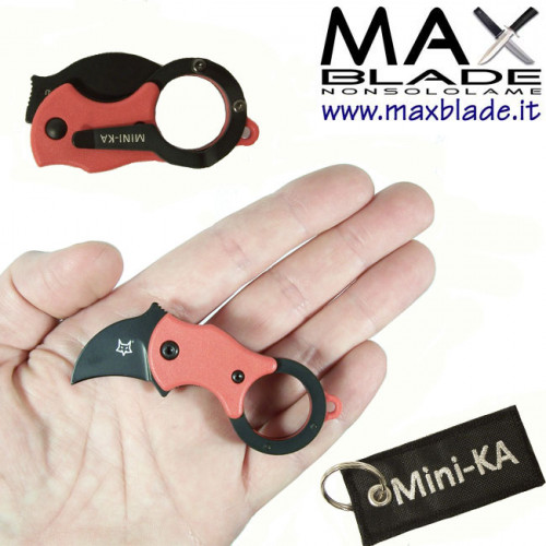 FOX Mini Ka Red Black portachiavi utility