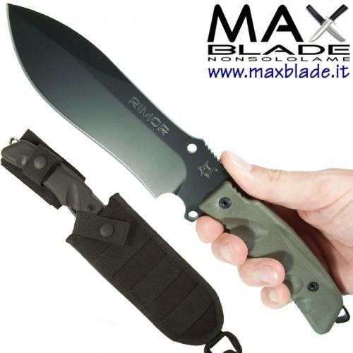 FOX Rimor Black Idroglider coltello militare survival
