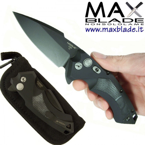 HOGUE X 5 Black Elishewitz Folder Knife
