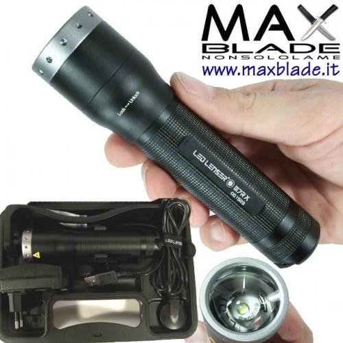 LED LENSER M7R Torcia Led Ricaricabile 400 lumes