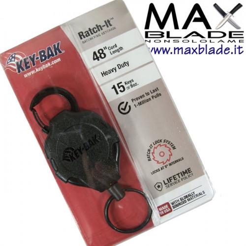 KEY-BAK Heavy Duty Tactical Secure Portachiavi Retrattile 15 chiavi