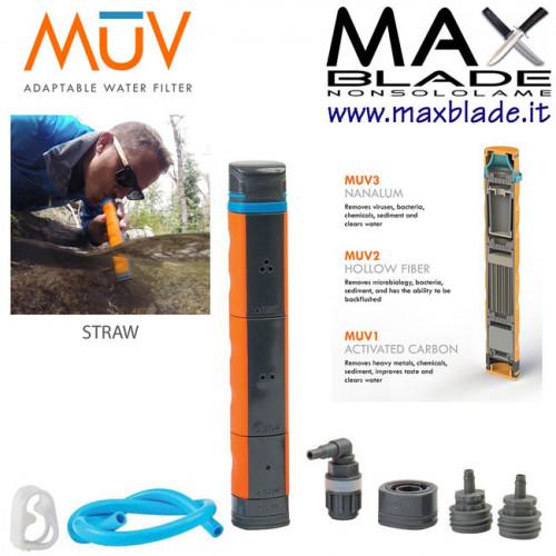 RENOVO WATER Filtro MUV Survivalist 3 filtri