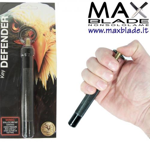 ASP Key Defender Nero Spray al peperoncino