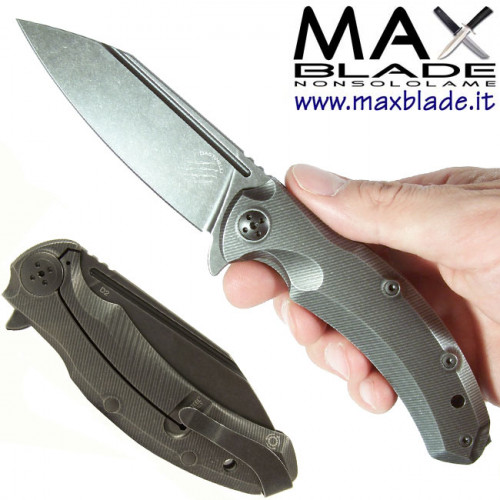 BASTINELLI Knives Trigger coltello tattico D2 e titanio