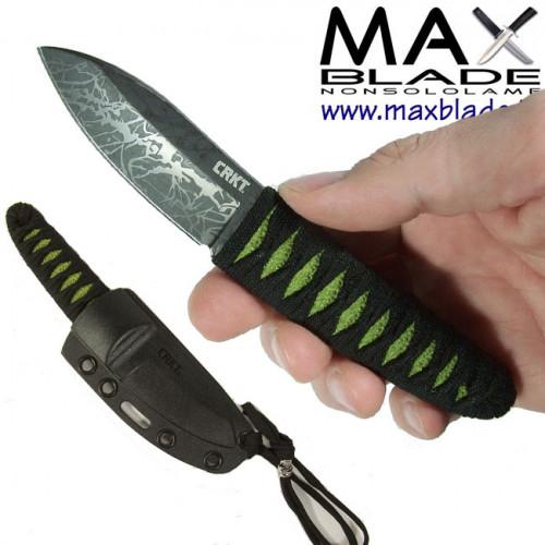 CRKT Akari Nek Knife By Lucas Burnley coltello