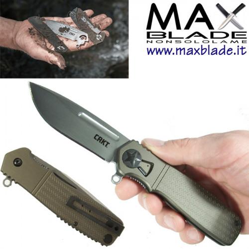 CRKT Homefront coltello smontaggio da campo by Ken Onion