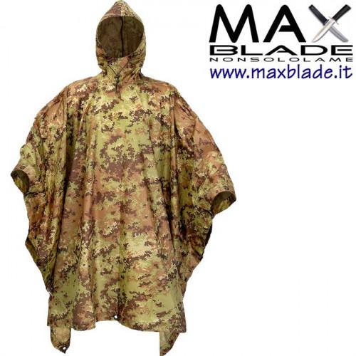 DEFCON 5 Poncho Militare Camo
