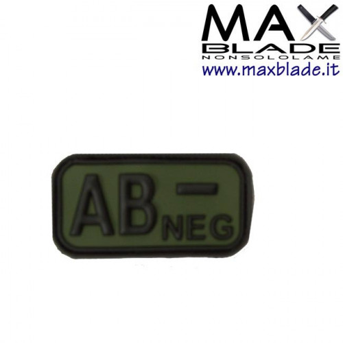 DEFCON 5 Targhetta Blodtype AB Neg