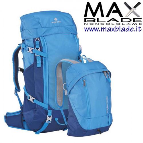 EAGLE CREEK Deviate Travel Pack azzurro 62 litri Zaino doppio