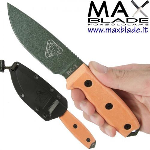 ESEE Knives Model 3 Arancio Kydex