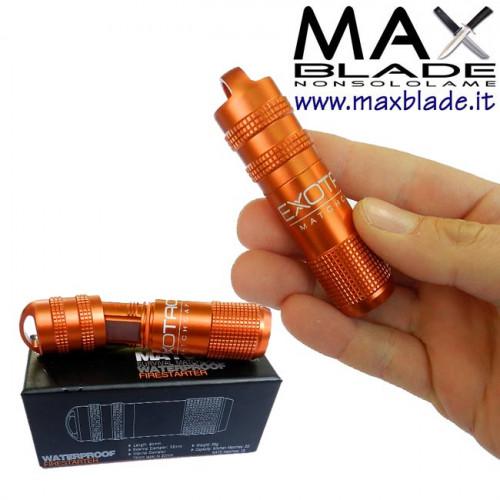 EXOTAC Portafiammiferi Impermeabile Arancio