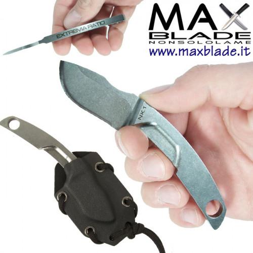 EXTREMA RATIO N.K.1. Neck Knife Stone Washed