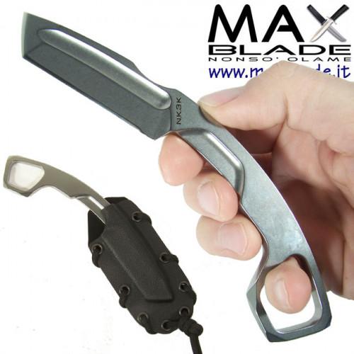 EXTREMA RATIO N.K.3K Neck Knife Stone Washed coltello