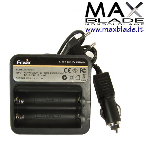 FENIX Carica Batterie al litio 18650