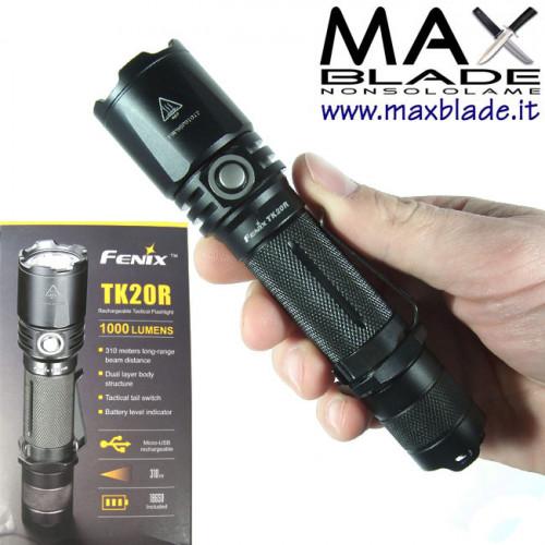 FENIX TK20R Ricaricabile Torcia LED 1000 lumens