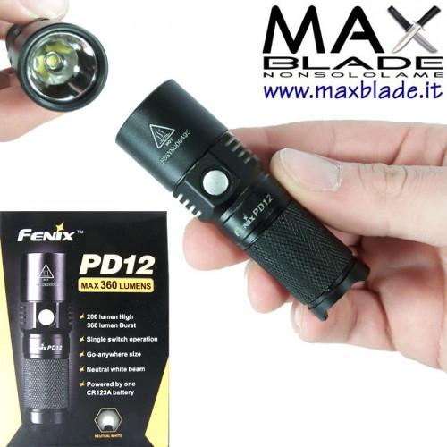 FENIX PD12 torcia LED 360 lumens