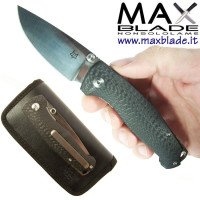 FOX Tur Folder Satinato Fibra di carbonio coltello By Vox