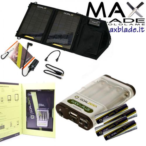 GOAL ZERO Guide 10 Plus Carica Batterie e Pannello Solare Nomad 7
