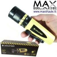 LED LENSER EX7 Torcia Led batterie ATEX torce anti deflagrazione