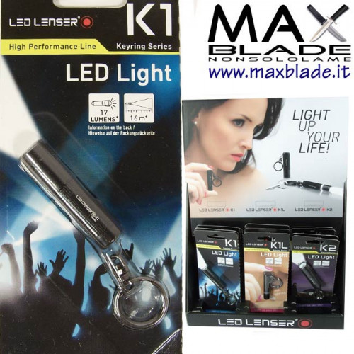 LED LENSER K1 Portachiavi Led 17 lumens
