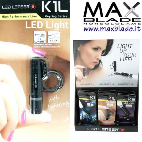 LED LENSER K1L Portachiavi Led 15 lumens