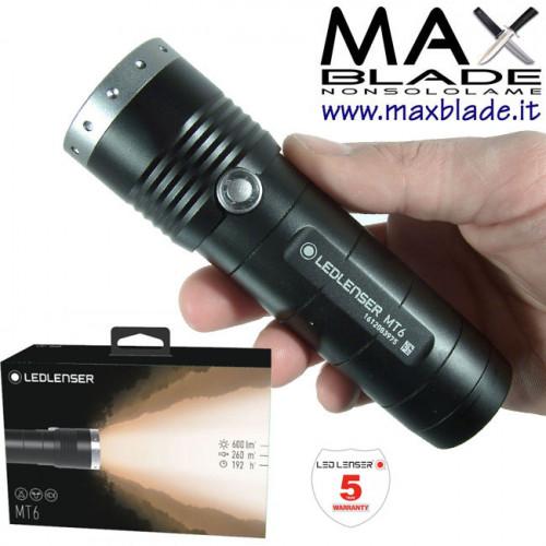 LED LENSER MT6 Torcia Led batterie AA 600 lumens