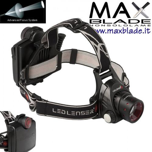 LED LENSER H14R. 2 Torcia Frontale Led Ricaricabile 850 lumens