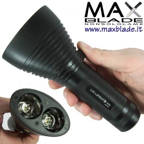 LED LENSER X14 Torcia Led 450 lumens
