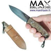 LIONSTEEL M1 legno di noce coltello