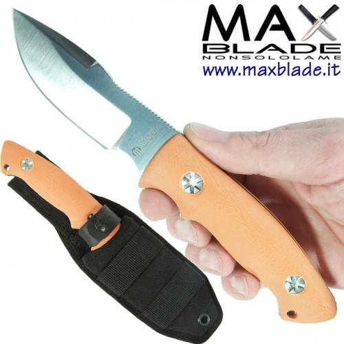 MASERIN Maxblade Bacchilega Hunting G10 Arancio