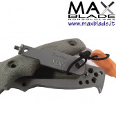 MAX BLADE Military Tanto Knife kydex