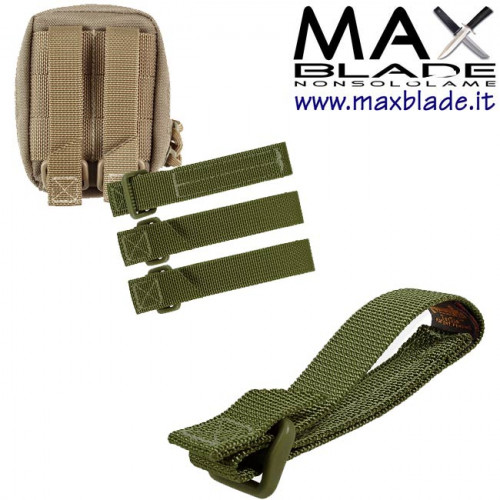 MAXPEDITION TacTie Strap Verde 3 Pollici