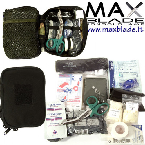 KIT MEDICO Professionale E.I. Emergency nero