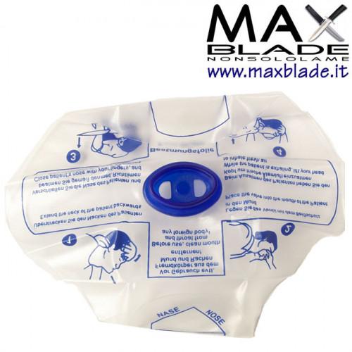 MASCHERINA LifeSaver Resusitator respirazione artificiale BLS