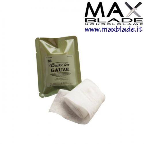 QUIKCLOT Combat Gauze Garza emostatica