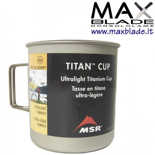 MSR Tazza Titanio