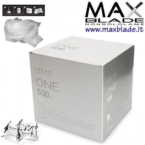 NAPKIN Salviettine Compresse Creho One 500 pz confezionati singolarmente