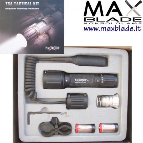 NexTORCH T6A Tactical Set Torcia Tattica
