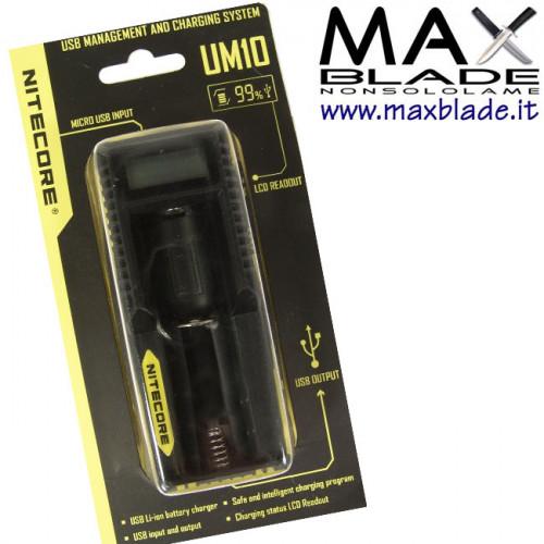 NITECORE Carica Batterie Universale e Dispositivi UM10